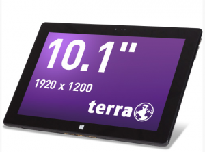 "10"" PAD mit Windows® 10 Home und Intel® Quad Core CPU"